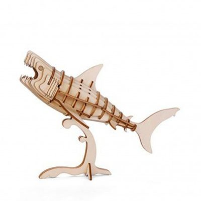 Головоломка 3D-пазл «Акула», деревянный