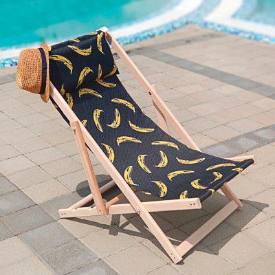 Шезлонг деревянный «Бананы»
