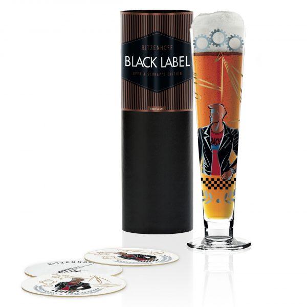 Пивной бокал Black Label от Horst Haben, 300 мл