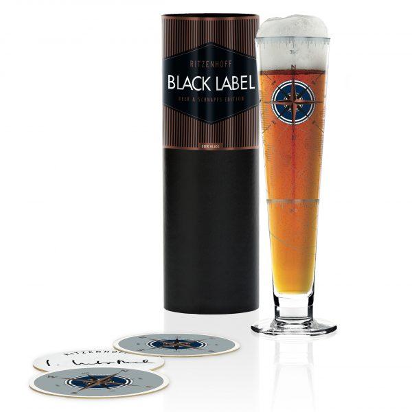 Пивной бокал Black Label от Iris Interthal, 300 мл