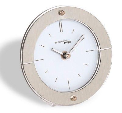 Часы настольные «Fabula», белый циферблат Ø14 см