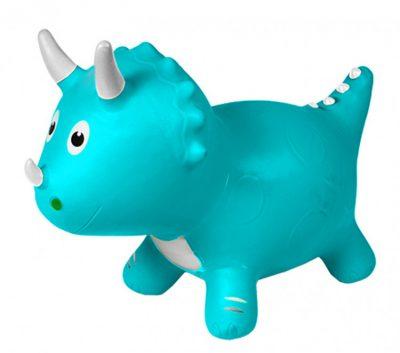 Детский прыгун-динозавр (голубой)