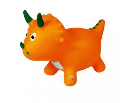 Детский прыгун-динозавр (оранжевый)