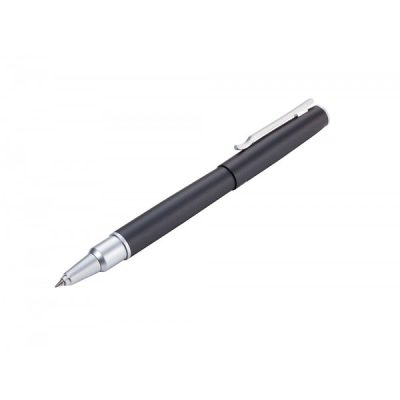 Ручка роллерная Troika «Capmatic», черная