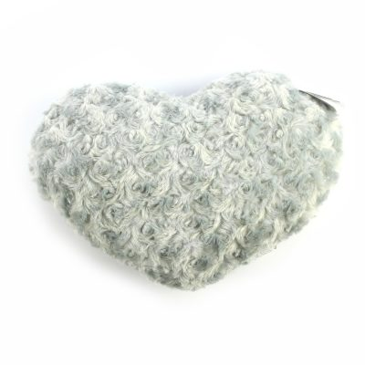 Подушка Сердце бежевая