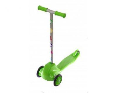 Детский самокат Doloni Toys (зеленый)
