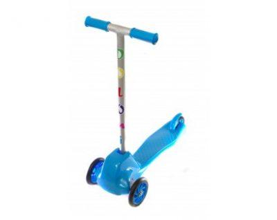 Детский самокат Doloni Toys (голубой)
