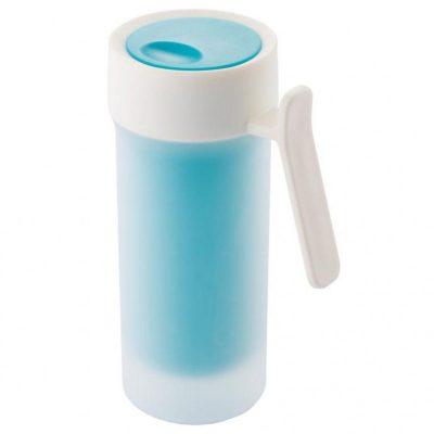Термокружка Pop 275 мл с двойными стенками голубая