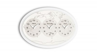 Часы настенные «Tre Ore Nel Mondo» большие 72x44,7 см
