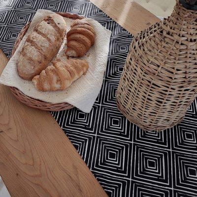 Дорожка на стол (раннер) «Ромбовидный орнамент»