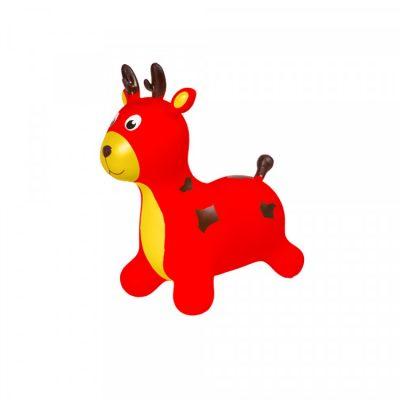 Детский прыгун-олень (красный)