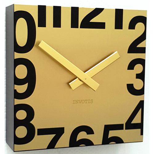Часы настенные «Square», золото