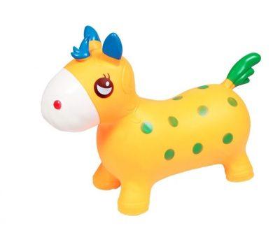 Детский прыгун-лошадка (оранжевый)