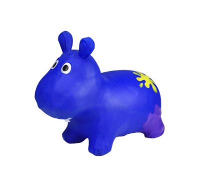 Детский прыгун-бегемот (синий)