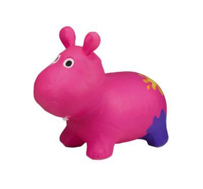 Детский прыгун-бегемот (розовый)