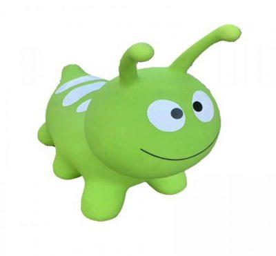 Детский резиновый прыгун-гусеница (зеленый)