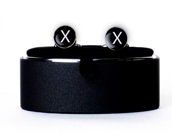 Запонки с буквой X