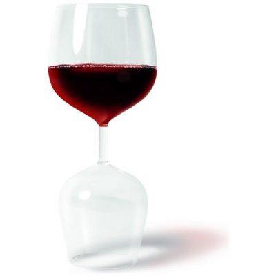 Двойной бокал «Красное или Белое?» 600 мл, 400 мл