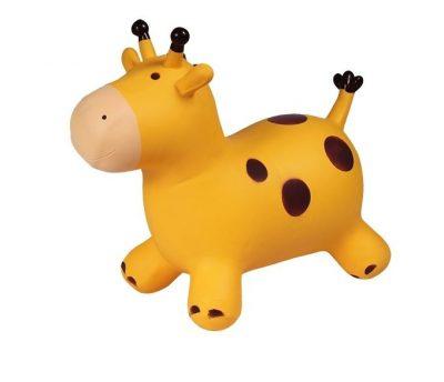 Детский резиновый прыгун «Жирафик» (желтый)