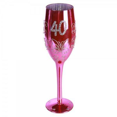 Бокал для шампанского «Happy Birhday» 40, 160 мл