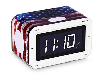 Радиоприемник с будильником «США» 16х10 см