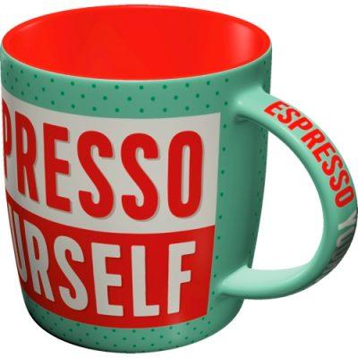 Кружка «Espresso Yourself» Nostalgic Art (43031)