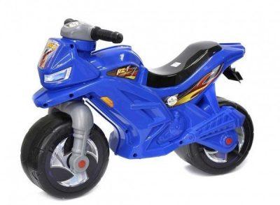 Беговел-мотоцикл 2-х колесный Орион (синий)
