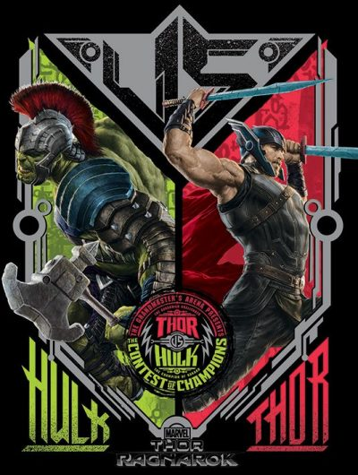 Постер «Thor Ragnarok (Contest Of Champions)» 60 х 80 см