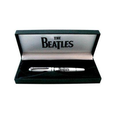 Ручка гелевая «The Beatles», белая, в подарочной упаковке