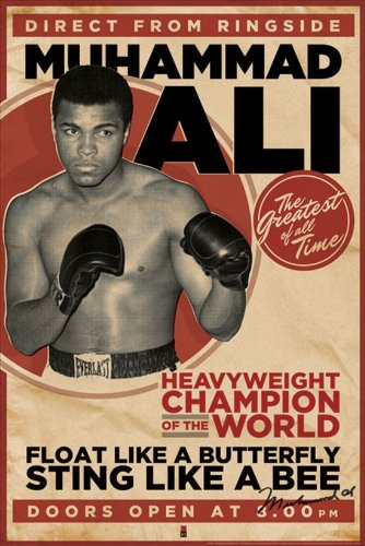 Постер Muhammed Ali - vintage - corbis 61 x 91,5 cм