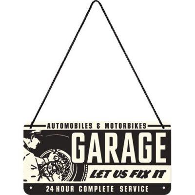 Вывеска на шнурке «Sing Garage» Nostalgic Art (28011)