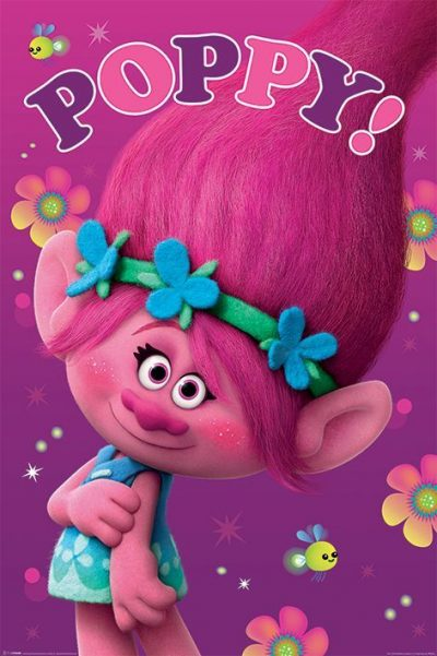 Постер «Trolls» 61 x 91,5 см