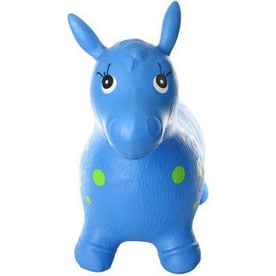 Детский прыгун-лошадка (синий MS 0372)