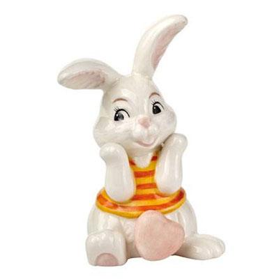 Статуэтка «Влюбленный кролик-девочка»