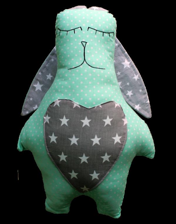 Подушка Хатка «Заяц» Звезды