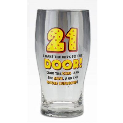 Бокал для пива «Age 21» 570 мл