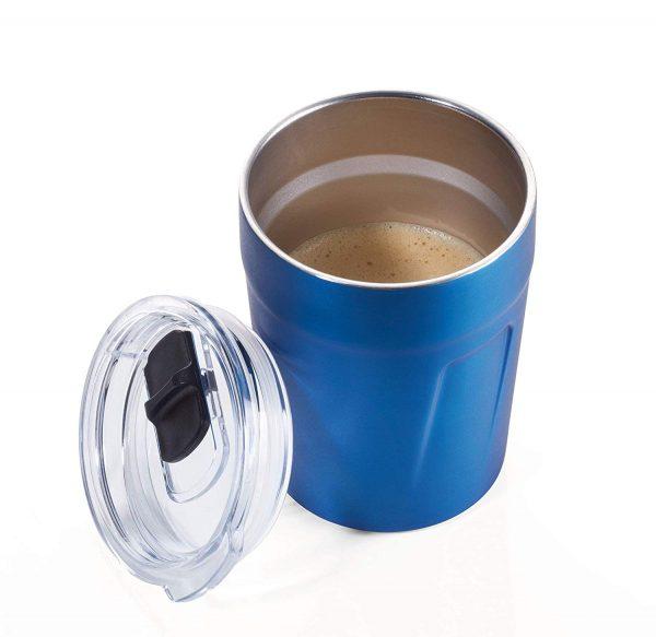 Термочашка для горячих напитков 160 мл синяя