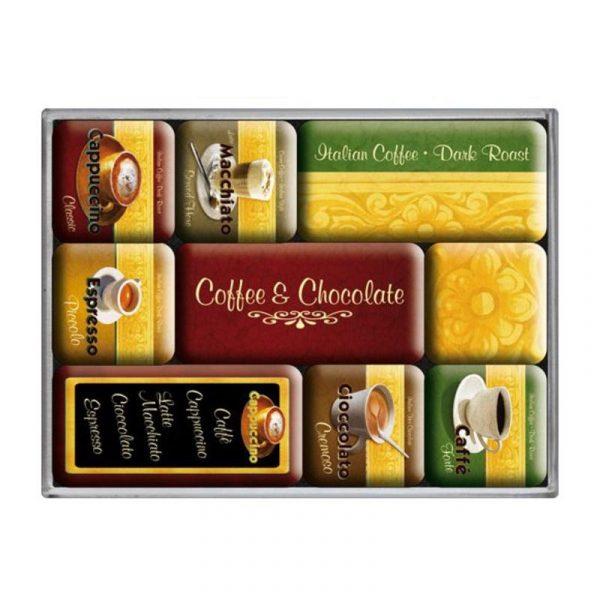 Набор магнитов «Время пить кофе»