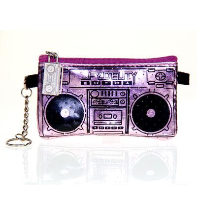 Бумажник с динамиками «Le Boom Box», сиреневый