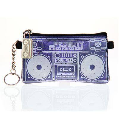 Бумажник с динамиками «Le Boom Box», синий