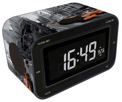 Радиоприемник с будильником «New York Тaxi» 16х10 см