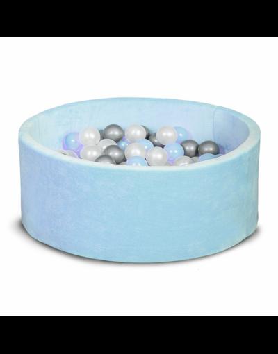 Бассейн для дома сухой, детский, голубой