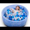 Бассейн для дома сухой, детский, синий