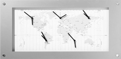 Часы настенные «Time Zone» 90х40 см