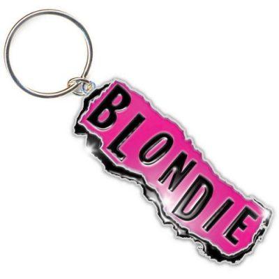 Брелок «Blondie Standard Keychain: Punk Logo»