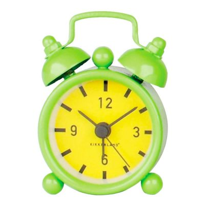 Часы-брелок «Мини будильник», салатовый