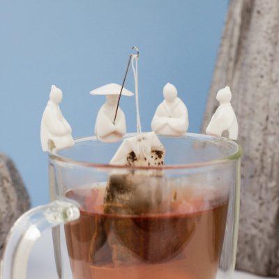 Набор держателей для чайного пакетика «Рыбалка» 4 шт.
