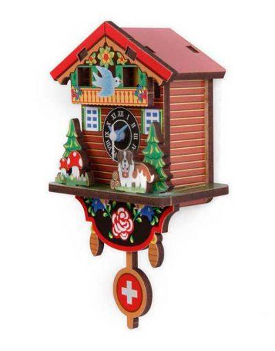 Настенные часы «Швейцарский домик», сборные