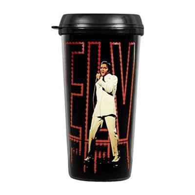 Кружка с крышкой «Elvis Travel Mug: In Lights»