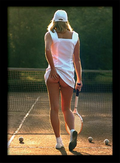Постер в раме Tennis Girl 30 х 40 см